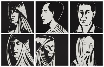 Alex Katz, 'Six Aquatints (Portfolio of 6)', 2013