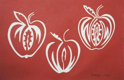 Edwina Sandys, 'Apple Trio', 1995