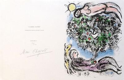 Marc Chagall, 'L'Arbe Fleuri', 1977