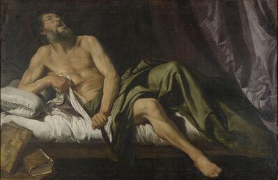 Domenico Fiasella, 'Death of Cato', ca. 1620