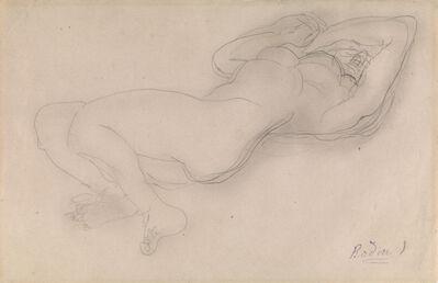 Auguste Rodin, 'Femme Nue Allongée', Circa 1900