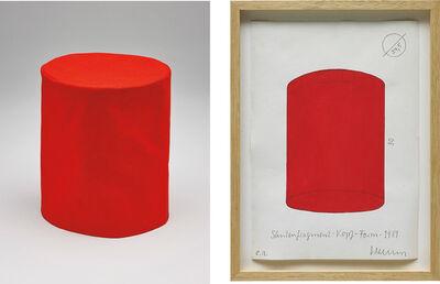 Franz Erhard Walther, 'Säulenfragment', 1981