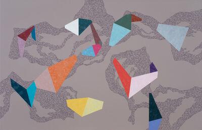 Zsófi Barabás, 'Colourful flow', 2015