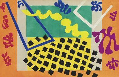 Henri Matisse, 'Les Codomas, from Jazz', 1947