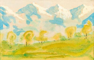 Alfons Walde, 'Spring in Tyrol', ca. 1925