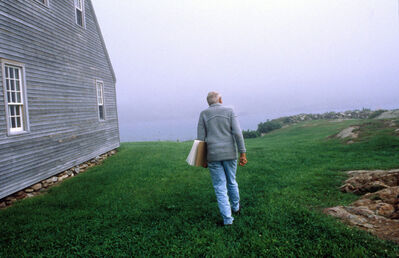 Harry Benson, 'Andrew Wyeth, Maine', 1996