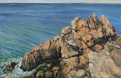 George Nick, 'Crow's Rock, June 2010', 2010