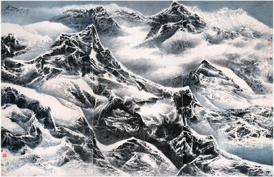 Liu Kuo-Sung, 'Snowy snowy mountains 雪滿群山', 2015