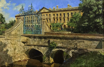 Peter Brown, 'New Buildings, Magdelan College, Oxford', Contemporary
