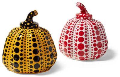 Yayoi Kusama, 'Pumpkins (Yellow & Black, Red & White)—2 Sculptures', 2020