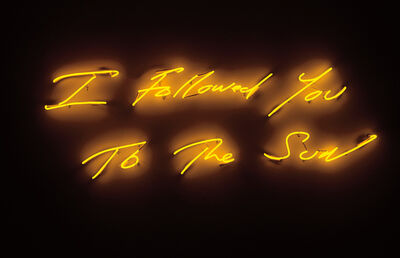 Tracey Emin, 'I Followed You to The Sun', 2013