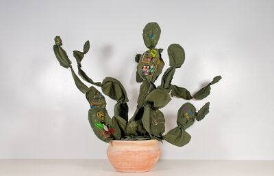 Margarita Cabrera, 'Space in Between - Nopal #4', 2012