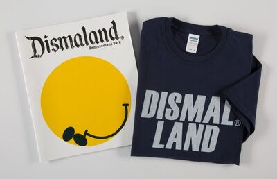 Banksy X Dismaland, 'Dismaland Bemusement Park (Booklet and T-shirt)', 2016
