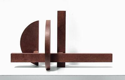 Marino di Teana, 'Structure Architecturale Droite Courbe ', 1963-1965