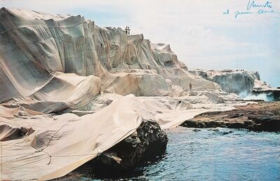 Christo and Jeanne-Claude, 'Wrapped Coast, Sydney Australia', 1969