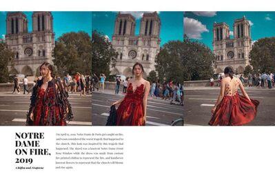Jacqueline Mones, 'Notre Dame on Fire', 2019
