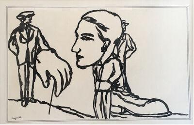René Magritte, 'Zelfportret', 1928