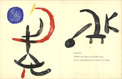 Joan Miró, 'Gravure sur Bois 6', (Date unknown)