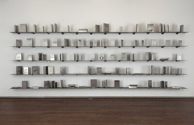 Shilpa Gupta, 'Someone Else- A Library of 100 books written anonymously or under pseudonyms', 2011