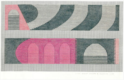 Jackie Ferrara, 'D105 Ghost Arches II', 2005