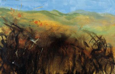 Rainer Fetting, 'Herbstlandschaft (Autumn Landscape), Sylt', 2012