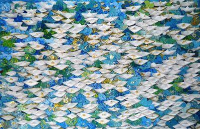 Anna Tsalagka, '(SP) Origami boats', 2019