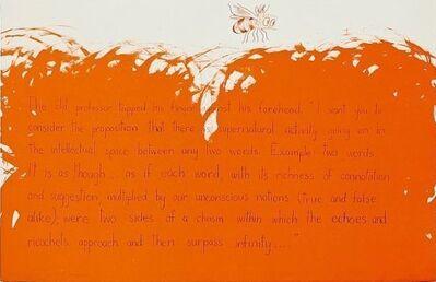 Jim Dine, 'The old Professor', 1970