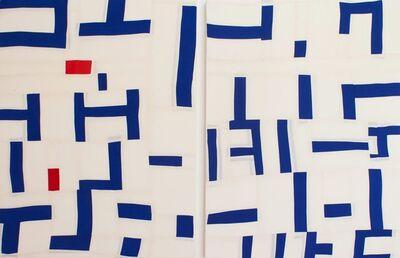 Bastienne Schmidt, 'Untitled 8, Colored Grids', 2019