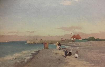 Adolf Kaufmann, 'At the Beach', 1910