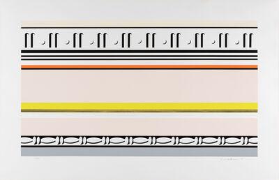 Roy Lichtenstein, 'Entablature VIII ', 1976