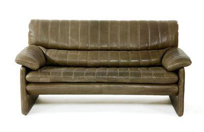 De Sede, 'A leather sofa', 1970s