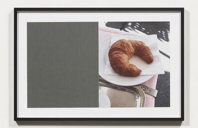 Nicole Wermers, 'Croissants & Architecture #15', 2016