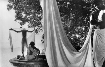 Marc Riboud, 'Le dhotti, Bénarès, Inde, 1956', 1956