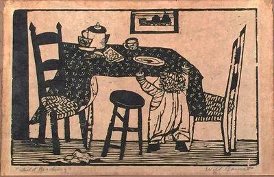 Will Barnet, 'Child Reaching', 1940