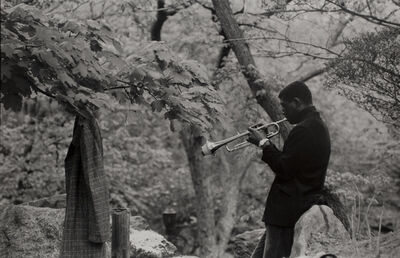 Frank Paulin, 'Musician Practicing, Central Park', 1956