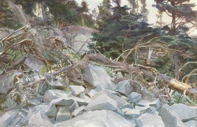 John Singer Sargent, 'Woods in Maine', 1922