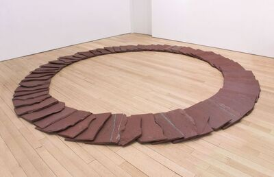 Richard Long, 'Red Ring', 2017