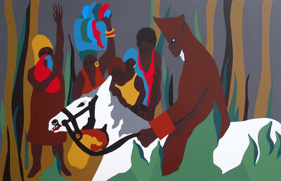 "Jacob Lawrence, 'DONDON from ""The Life of Toussaint L'Ouverture""', 1992"