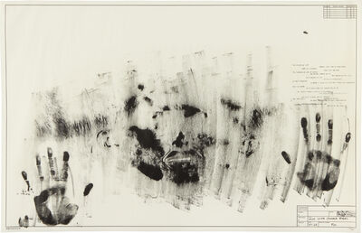 Jasper Johns, 'Skin with O'Hara Poem', 1963-1965