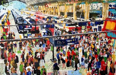 Andrea Sbra Perego, 'Paris, Gare du Nord', 2018