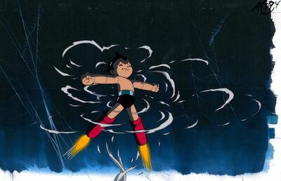 Astro Boy, 'Astro Boy Anime Production Cel 鉄腕アトム (アニメ第2作)', 1980s