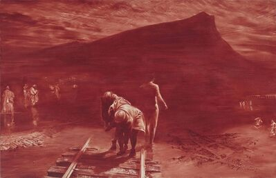 Mark Tansey, 'Study of the Shades of Mont Saint Victoire'