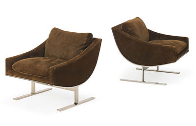 Kipp Stewart, 'Kipp Stewart For Directional Lounge Chairs', 1970s