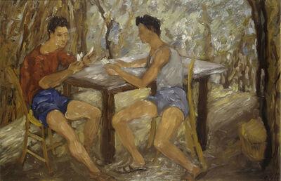 Corrado Cagli, 'Card Game', 1936