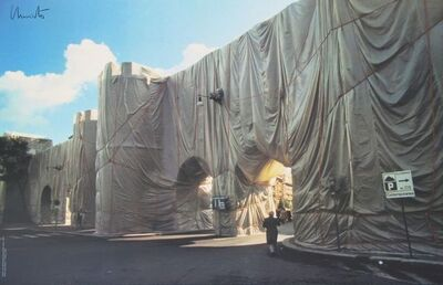 Christo and Jeanne-Claude, 'The Wall - Wrapped Roman Wall', 1974