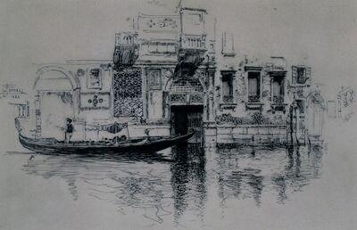 Joseph Pennell, 'Venice Doorway', 1883