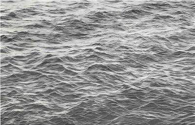 Li Trieb, 'Wasser XXVIII, 02.12.2017 - 10:26 bis 18.12.2017-19:12 (6137 Minuten gezeichnete Zeit)', 2017