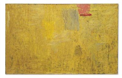Philip Guston, 'Ochre Painting I'