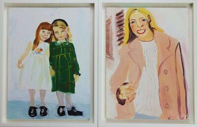 Chantal Joffe, 'Friends and Rose', ca. 1995