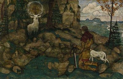 Egon Schiele, 'The Vision of St Hubert', 1916